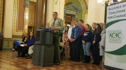 Youth Substance Abuse Prevention Day on the Hill